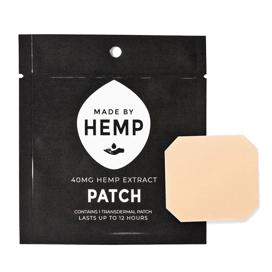 groovyhempcompany.com provides Made by Hemp, Hemp CBD Patches, 40mg CBD.