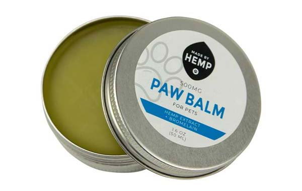 groovyhempcompany.com provides Made by Hemp Organic CBD Paw Balm 1.6oz (500mg).